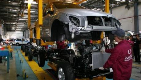 В Казахстане сократилось производство легковых автомобилей