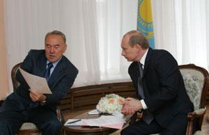 Партнерство начинается с границы. Вчера Президент Казахстана Нурсултан Назарбаев встретился в Челябинске с Президентом России Владимиром Путиным