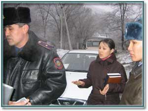Гибель А. Сарсенбаева: Вчера, на месте преступления…