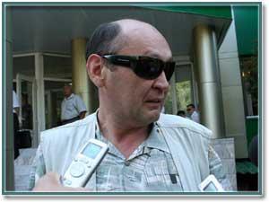 Нурлан Устемиров, адвокат г-на Ибрагимова.