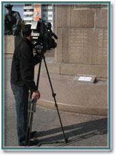 На Площади Республики ночью был похищен фрагмент монумента Независимости