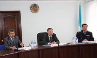 Министр внутренних дел РК посетил ДВД Костанайской области