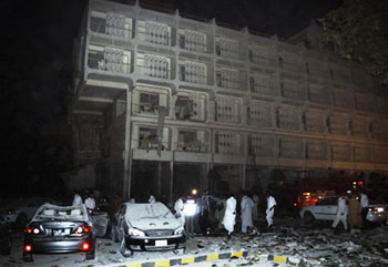 Смертники устроили бойню в пятизвездочном отеле