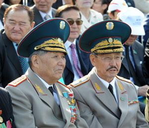 В Астане состоялся первый Парад войск, посвященный празднованию Дня Конституции