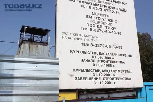 Только что стало известно об обвале в алматинском метро в районе новой транспортной развязки на пересечении улиц Абая...