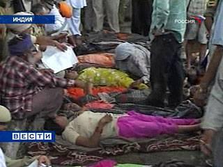 Столкновение поездов в Индии: минимум 15 человек погибли