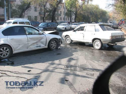 В ДТП в центре города жертв и пострадавших нет (фото)