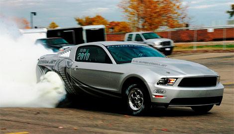 Компания Ford будет продавать Mustang для дрэг-рейсинга (фото)