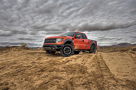 В Лас-Вегасе состоялась премьера гоночного пикапа Ford (фото)
