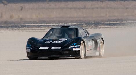 Британцы побьют рекорд скорости на 1800-сильном суперкаре (фото)