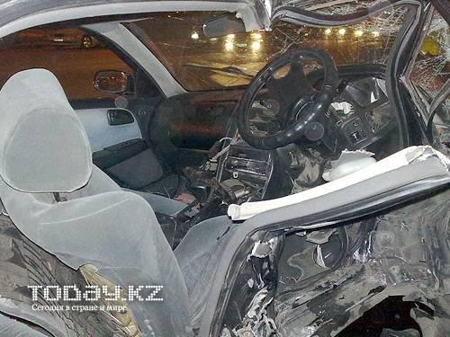 В Алматы произошло крупное ДТП: трое пострадавших оказались на больничной койке (фото)