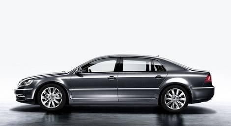 Появились первые фотографии обновленного VW Phaeton (фото)