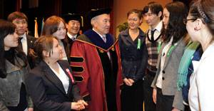 Президенту Казахстана присвоено звание Почетного Доктора наук Корейского университета