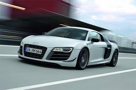 Компания Audi представила самый мощный и легкий суперкар R8 (фото)