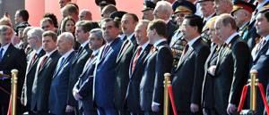 Президент Н. Назарбаев принял участие в юбилейных мероприятиях в Москве, посвященных 65-летию Победы