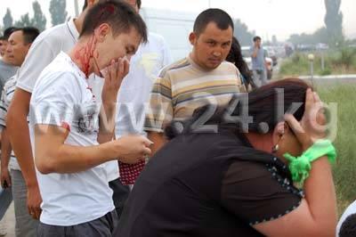 Кыргызстан. 5 августа. Акции Урмата Барыктабасова (фоторепортаж)