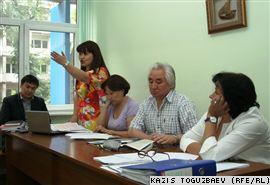 Судебное заседание по иску «Банка развития Казахстана» к газете «Централ Азия монитор» превратилось в разбор русских фразеологизмов