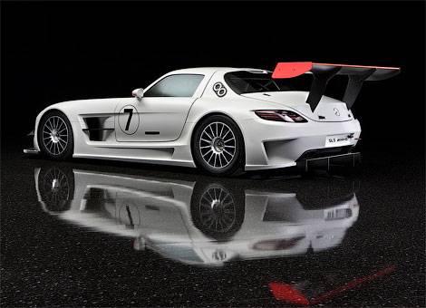 Начались продажи гоночного Mercedes-Benz SLS AMG (фото)