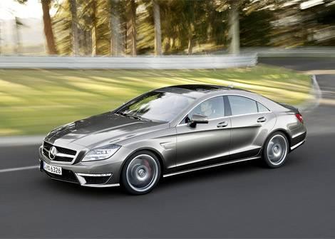 Самый быстрый Mercedes-Benz CLS показали в Лос-Анджелесе