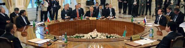 Глава государства Н. Назарбаев принял участие в работе третьего Саммита глав прикаспийских государств