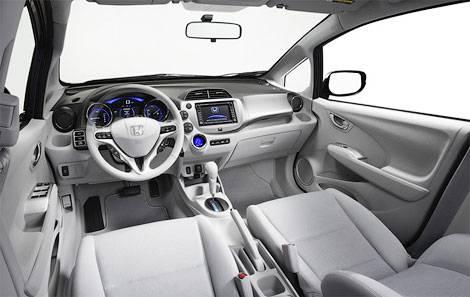 Хэтчбек Honda Fit стал электрокаром