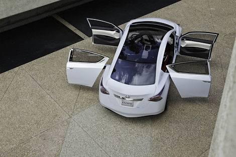 Nissan показал дизайн будущих моделей