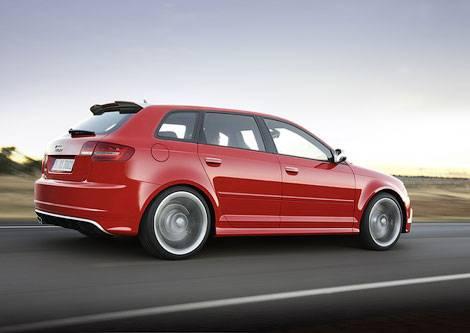 Рассекречена 340-сильная версия хэтчбека Audi А3