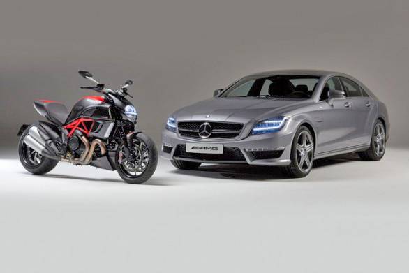 Mercedes и Ducati объединяют усилия