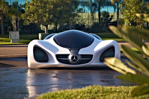 Mercedes-Benz BIOME - ультралёгкий автомобиль как часть природы