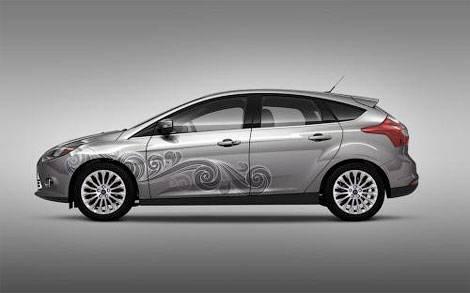 Новый Ford Focus получит «татуировки» (фото)