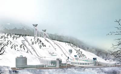 Объекты зимних Азиатских игр