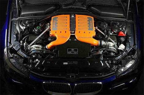 Тюнинговый седан BMW M5 стал самым быстрым газовым автомобилем в мире
