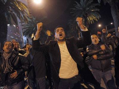 В Тунисе запретили бывшую правящую партию (фото)