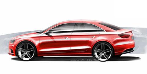 Audi A3 покажут в Женеве с кузовом «нотчбек»