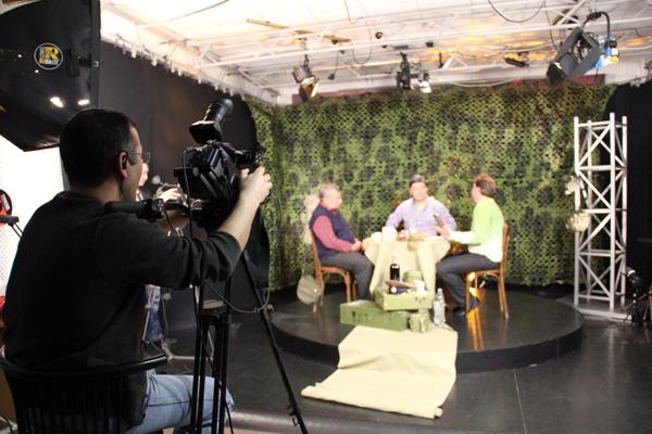 Фотографии со съемок праздничной передачи «С праздником мужики!»