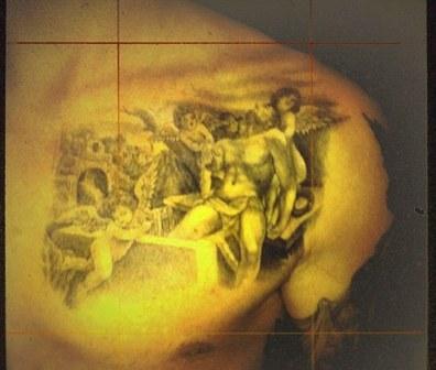 Дэвид Бэкхем сделал новую «семейную» тату (фото)