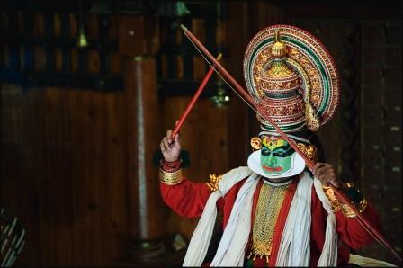 Театр Катхакали в Керале (фото)