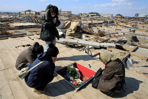 Японский кризис - месяц спустя (фото)