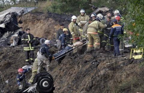 Страшная авиакатастрофа под Ярославлем: 43 погибших (фото)