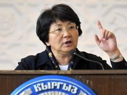 Временный президент Киргизии Роза Отунбаева