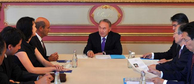 Астана - Париж: динамика взаимных интересов. Состоялся визит Президента Н. Назарбаева во Французскую Республику