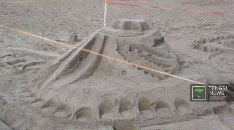 В Павлодаре в День города прошел фестиваль песчаных фигур