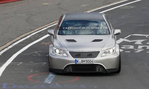 Lexus готовит конкурента Mercedes S63 AMG, Audi S8 и Alpina B7