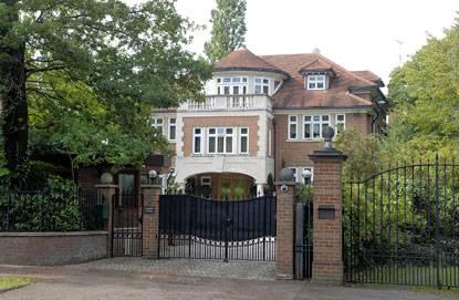Аблязов живет в одном из фешенебельных районов Лондона, утверждает London Evening Standard