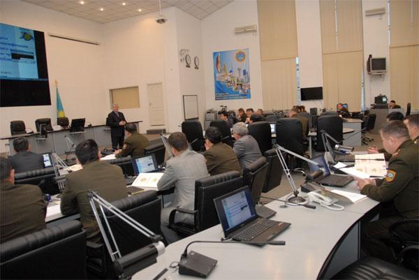 В МЧС РК проходят курсы повышения квалификации руководящего состава (фото)
