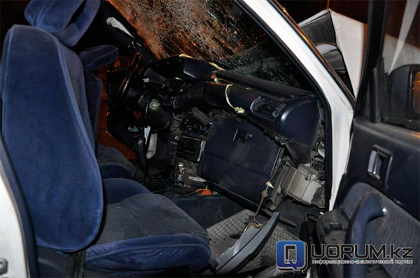 Пять человек пострадали в результате ДТП в Алматы (фото)