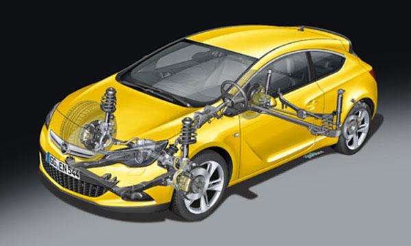 Тест-драйв Opel Astra GTC. Эмоциональная практичность (фото)
