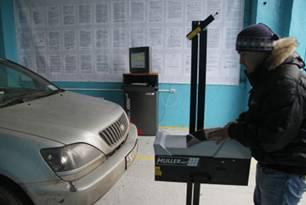 Поправки в закон о прохождении обязательного техосмотра введены в действие с 1 января 2012 года