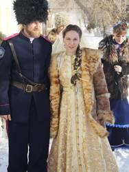 Ирина поделилась своей идеей свадьбы в казачьем стиле с женихом Андреем, и он с удовольствием ее поддержал.