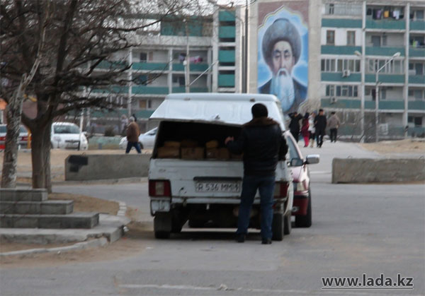 Никто не контролирует транспортировку хлеба в Актау